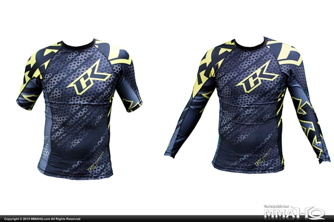 CK Droid Yellow Rashguard